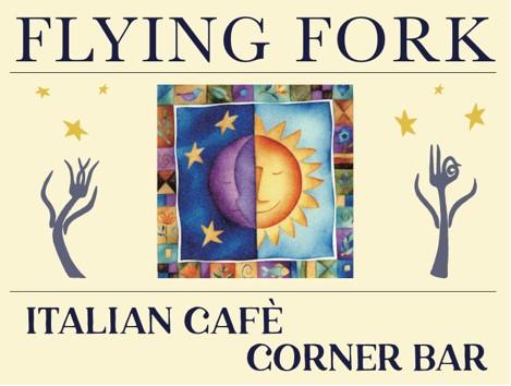 Flying Fork Cafe sign